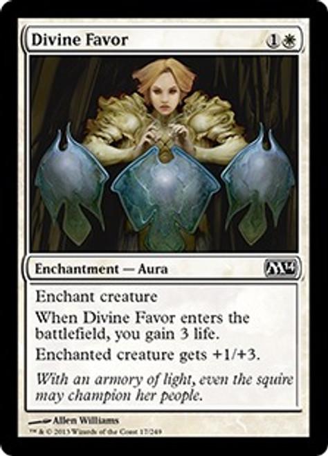 MtG 2014 Core Set Common Divine Favor #17