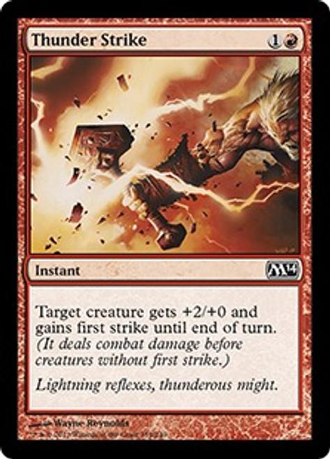 MtG 2014 Core Set Common Thunder Strike #159