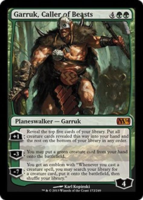 MtG 2014 Core Set Mythic Rare Garruk, Caller of Beasts #172