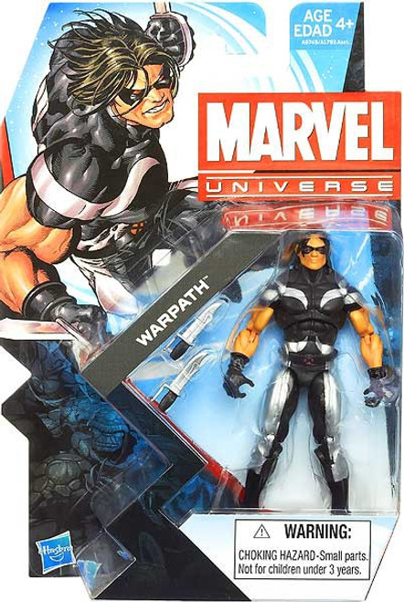 Marvel Universe Series 23 Warpath Action Figure #25
