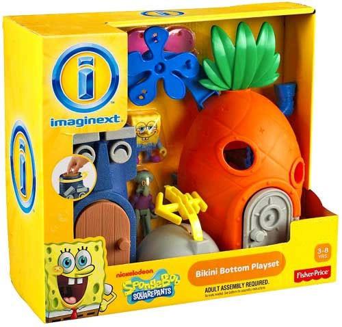 Fisher Price Spongebob Squarepants Imaginext Bikini Bottom Exclusive Playset