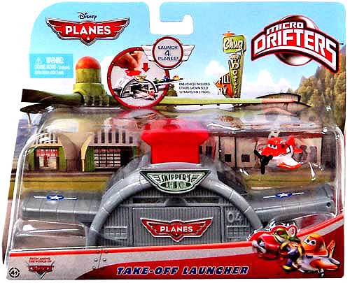 Disney Planes Micro Drifters Take-Off Launcher Playset
