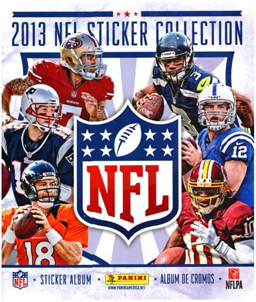 NFL Panini 2013 Football Sticker Album