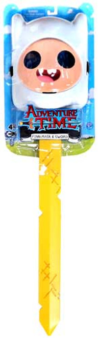 Adventure Time Finn Sword & Mask 24-Inch Roleplay Toy