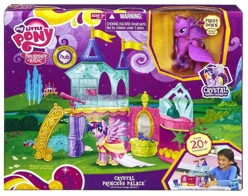 My Little Pony Friendship is Magic Crystal Empire Crystal Princess Palace Figure Playset