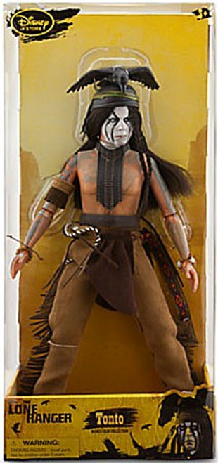 Disney The Lone Ranger Tonto Exclusive Deluxe Action Figure