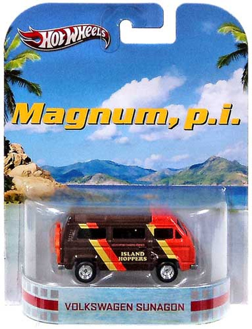 Hot Wheels Magnum, P.I. HW Retro Entertainment Volkswagen Sunagon Die-Cast Car