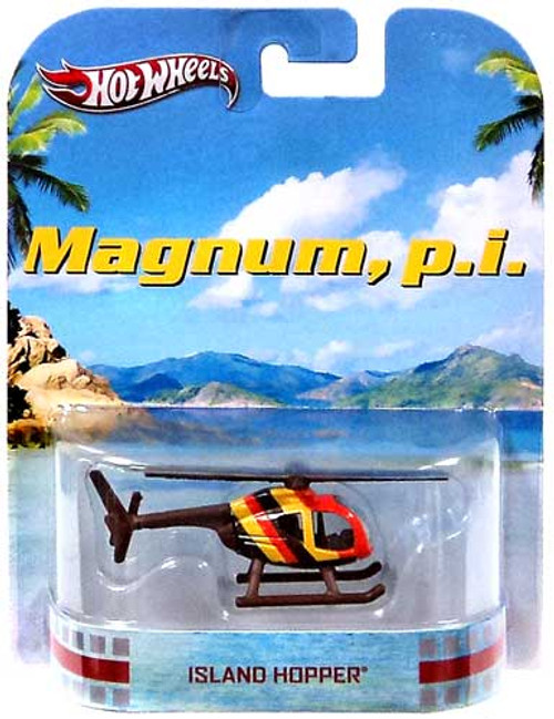 Hot Wheels Magnum, P.I. HW Retro Entertainment Island Hopper Die-Cast Car