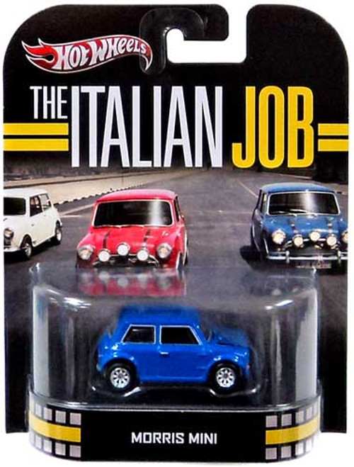 Hot Wheels The Italian Job HW Retro Entertainment Morris Mini Die-Cast Car [Blue]