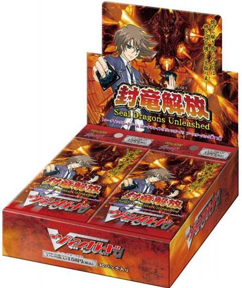 Cardfight Vanguard Trading Card Game Seal Dragons Unleashed Booster Box VGE-BT11 [30 Packs]