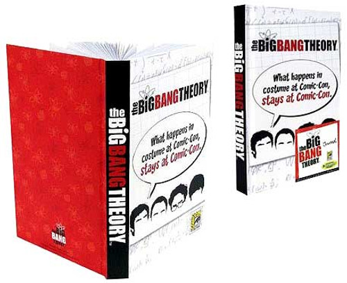 The Big Bang Theory What Happens at Comic-Con Exclusive Journal