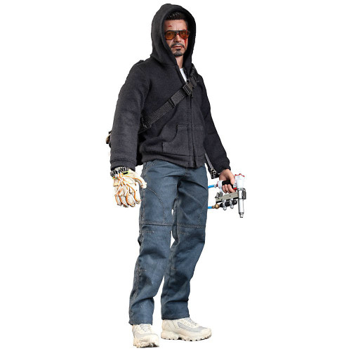 Iron Man 3 Movie Masterpiece Tony Stark Collectible Figure [The Mechanic]