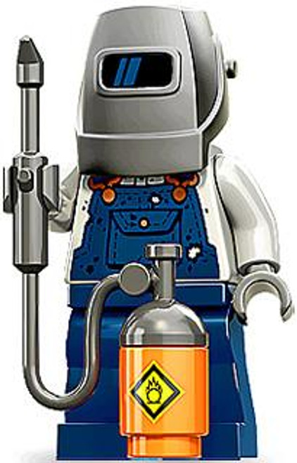 LEGO Minifigures Series 11 Welder Minifigure [Loose]