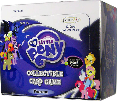 My Little Pony Collectible Card Game Premiere Booster Box [36 Packs]