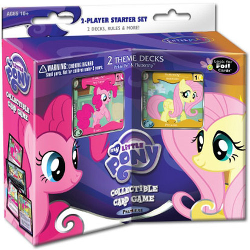My Little Pony Collectible Card Game Premiere Fluttershy & Pinkie Pie 2-Player Starter Set