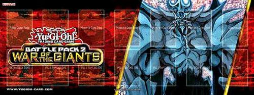YuGiOh Battle Pack 2: War of the Giants Obelisk the Tormentor Play Mat