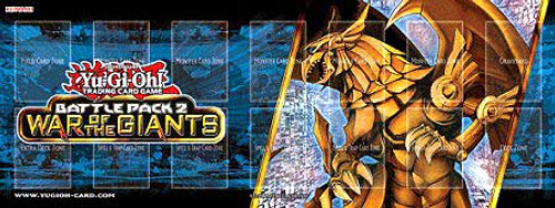 YuGiOh Battle Pack 2: War of the Giants The Winged Dragon of Ra Play Mat