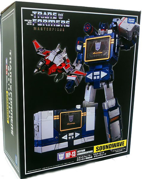 Transformers Japanese Masterpiece Collection Soundwave Action Figure MP-13