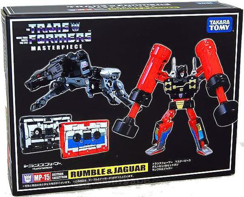 Transformers Japanese Masterpiece Collection Rumble & Jaguar Action Figure Set MP-15 [Ravage]