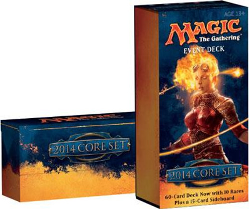 MtG Trading Card Game 2014 Core Set Rush of the Wild Event Deck
