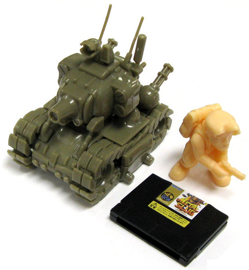Neo Geo A.R.T.S. Gashapon Super Vehicle Metal Slug 001/I Model
