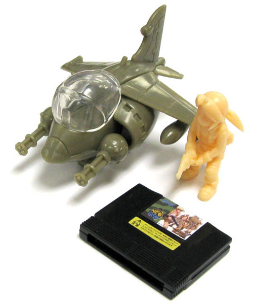 Metal Slug Neo Geo A.R.T.S. Gashapon Slug Flyer Model