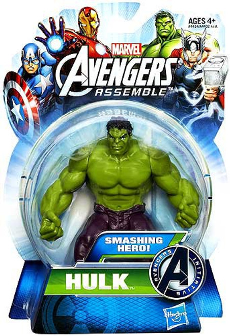 Marvel Avengers Assemble Hulk Action Figure [Smashing Hero]