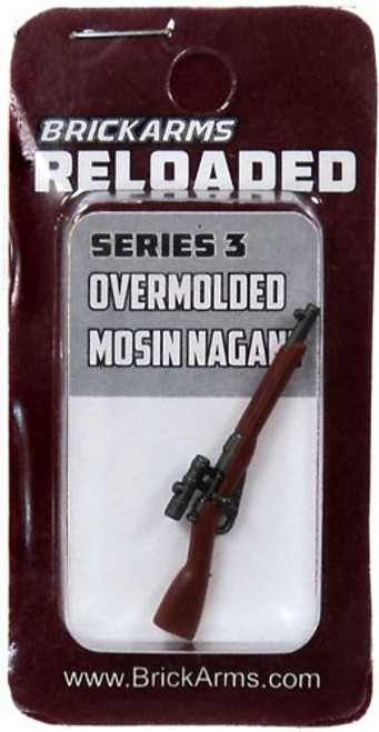 BrickArms Reloaded Series 3 Weapons Mosin Nagant with Scope 2.5-Inch [Overmolded] [New Sealed]