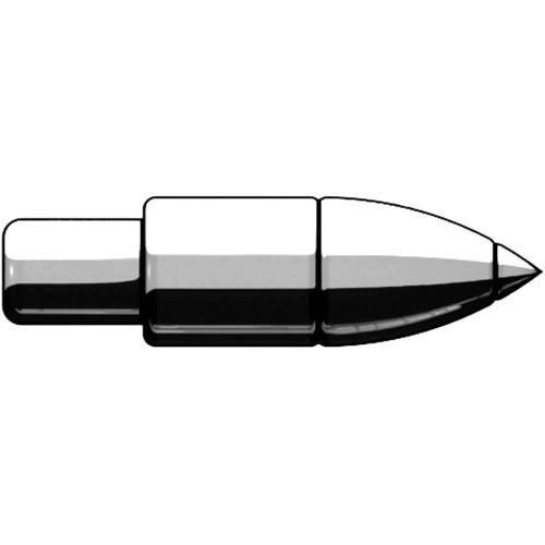 BrickArms Howitzer Shell 2.5-Inch [Silver]
