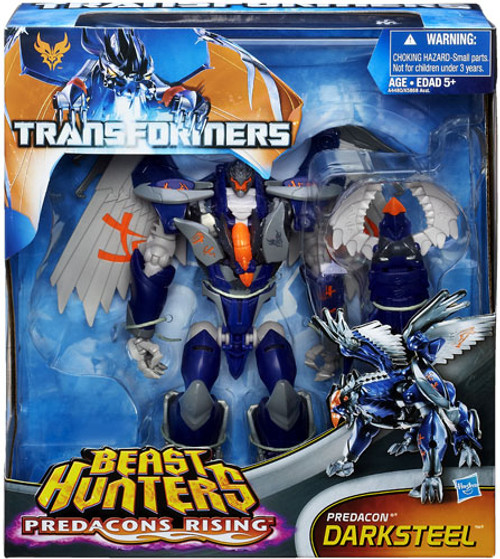 Transformers Prime Beast Hunters Predacons Rising Darksteel Exclusive Action Figure