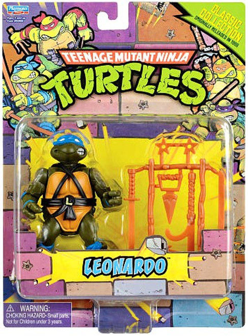 Teenage Mutant Ninja Turtles TMNT 1987 Retro Leonardo Action Figure