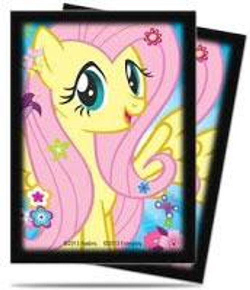 Ultra Pro My Little Pony Collectible Card Game Card Supplies Fluttershy Deck Protector Card Sleeves [65 Count]