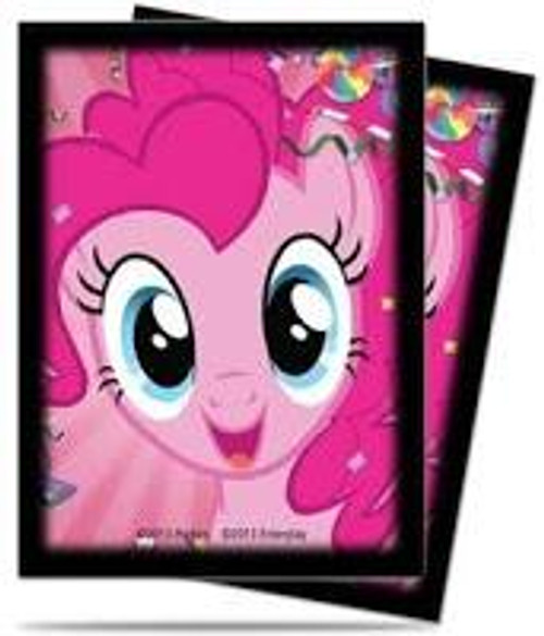 Ultra Pro My Little Pony Collectible Card Game Card Supplies Pinkie Pie Deck Protector Standard Card Sleeves [65 Count]