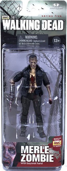 McFarlane Toys The Walking Dead AMC TV Series 5 Merle Zombie Action Figure