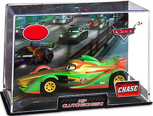 Disney / Pixar Cars 1:43 Collectors Case Rip Clutchgoneski Exclusive Diecast Car [Chase Edition]