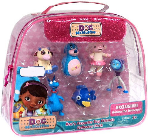 Disney Doc McStuffins Doc's Favorite Toy Friends Exclusive Figure 6-Pack
