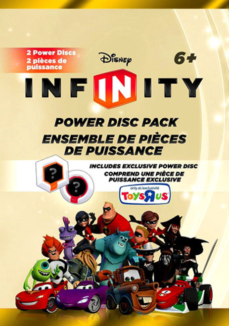 Disney Infinity Series 1 Exclusive Power Disc Pack [Gold]