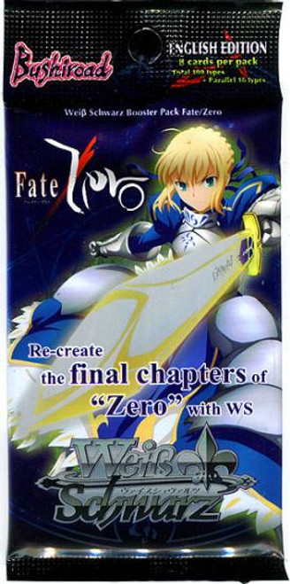 Weiss Schwarz Fate / Zero Booster Pack [8 Cards]