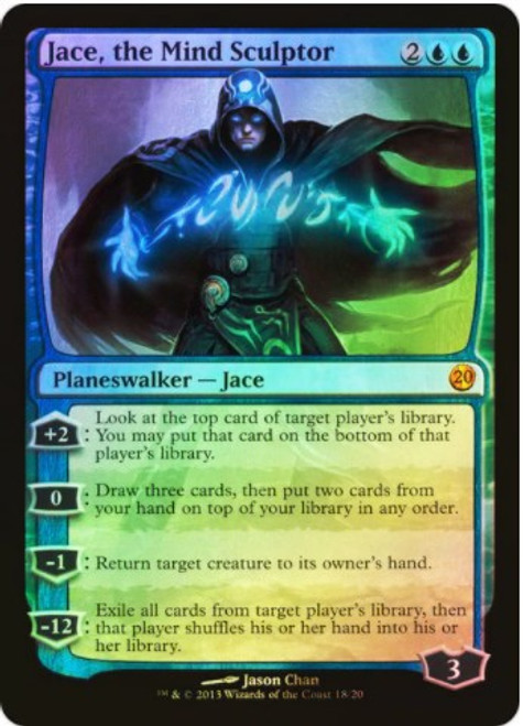 MtG From the Vault: Twenty Mythic Rare Jace, the Mind Sculptor #18