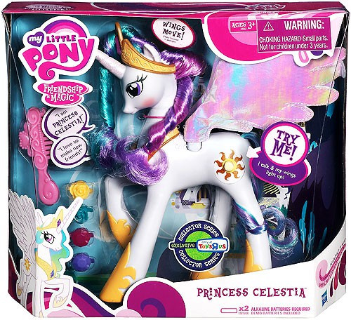 My Little Pony Friendship is Magic Collector Series Princess Celestia Exclusive Figure