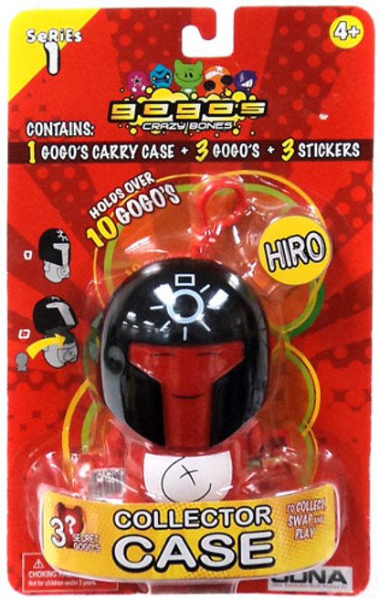 Crazy Bones Gogo's Series 1 Hiro Collector Case [Random Color]