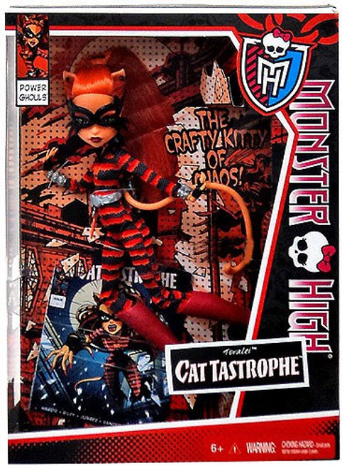 Monster High Power Ghouls Toralei Exclusive 10.5-Inch Doll [Cat Tastrophe]
