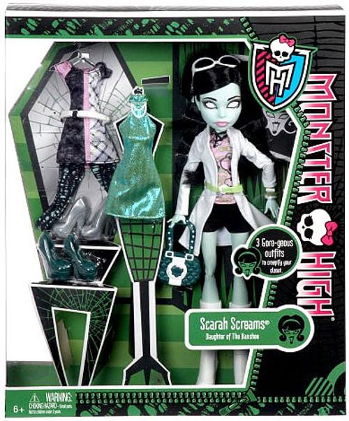 Monster High I Love Fashion Scarah Screams 10.5-Inch Doll