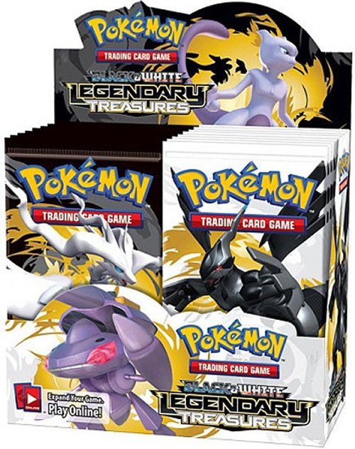 Pokemon Trading Card Game Black & White Legendary Treasures Booster Box [36 Packs]