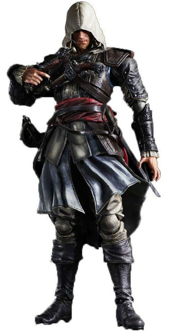Assassin's Creed IV Black Flag Play Arts Kai Edward Kenway Exclusive Action Figure