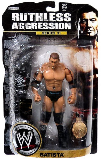 WWE Wrestling Ruthless Aggression Series 31 Batista Action Figure [Limited Edition]