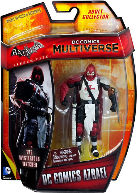 Batman Arkham City DC Comics Multiverse Azrael Action Figure [Arkham City]