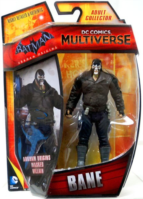 Batman Arkham Origins DC Comics Multiverse Bane Action Figure