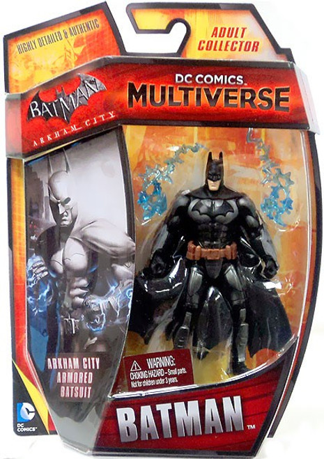 Arkham City DC Comics Multiverse Armored Batman Action Figure