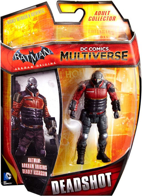 Batman Arkham Origins DC Comics Multiverse Deadshot Action Figure